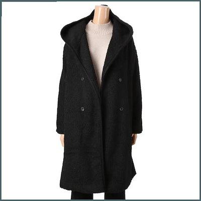 [ディデム]GW1812666 JNJ)ドムブルフード /ロングコート/コート/韓国ファッション