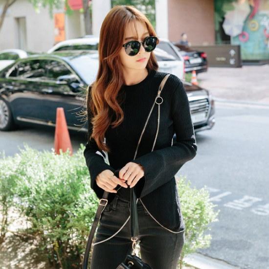 レドゥオピンリンクロス・ニット ニット/セーター/ニット/韓国ファッション