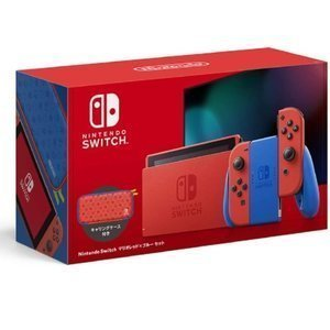 Nintendo Switch マリオレッド×ブルー セット 製品画像
