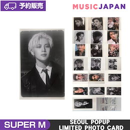 SuperM Seoul Popupstore Limited photo card 送料無料