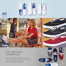 【Keds】ケッズ スニーカー/チャンピオン/コアCHAMPION CORE Canvas Basic Best seller Sneakers 7type CH core