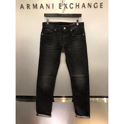 Armani Exchange[AK公式ストア]【Armani Exchange] [A / X]メンズスリムダークグレイデニムパンツ(A418340002)