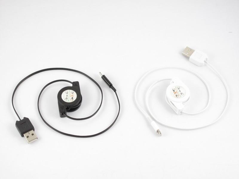 【メール便対応】iphone12/11/Xs/8/7/6s/6 充電器 ケーブル lightning ケーブル巻き取り式■全長約80cm【巻き取り式/リール式】type-c/Micro usb