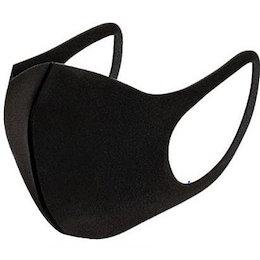 当日発送 マスク 洗える 黒  立体マスク ウレタン ポリウレタン 花粉症 対策 ウイルス 個包装 立体型 在庫あり