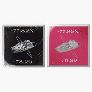 韓国音楽 EVERGLOW (エバーグロー) - [-77.82X-78.29] (バージョン選択/CD+フォトブック80P+ブックレット16P+ポップアップカード1種+フォトカード2種)