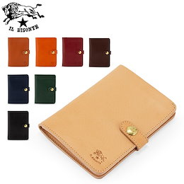 a4bbb6ee065f イルビゾンテ Il Bisonte 二つ折り財布 C0343 P WALLET 財布 コンパクト レザー 革 牛革 イタリア プレゼント