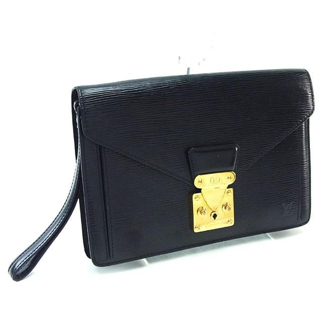 ルイヴィトン Louis Vuitton セカンドバッグ クラッチバッグ メンズ可 セリエドラゴンヌ エピ M52612 ノワール(ブラック) エピレザー (あす楽対応)激安 セール【中古】 Y216