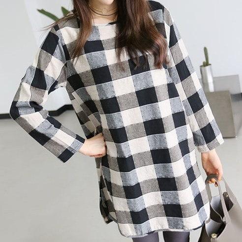 Macy s Crew Long korean fashion style