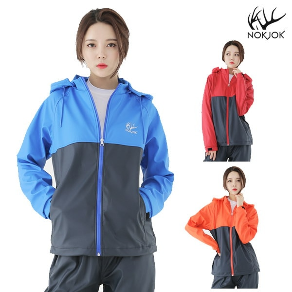 Nokjok R91W navy Sweat suit Womens jacket