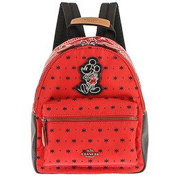 31cdb5432883 COACH F59831-QBM4Eコーチ ディズニーコラボ バックパックミッキーマウス レッド×ブラックキャンバス×