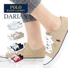 \新色追加しました❤/ ポロ ラルフローレン レディーススニーカー POLO RALPH LAUREN DARIAN キャンバス スニーカー 靴