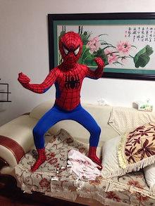 スパイダーマン 超弾力服 ハロワイン コスプレコスチューム 変装 男の子 子供用 成人用クリスマス 送料無料