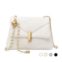 4色2サイズチェーンバッグ
