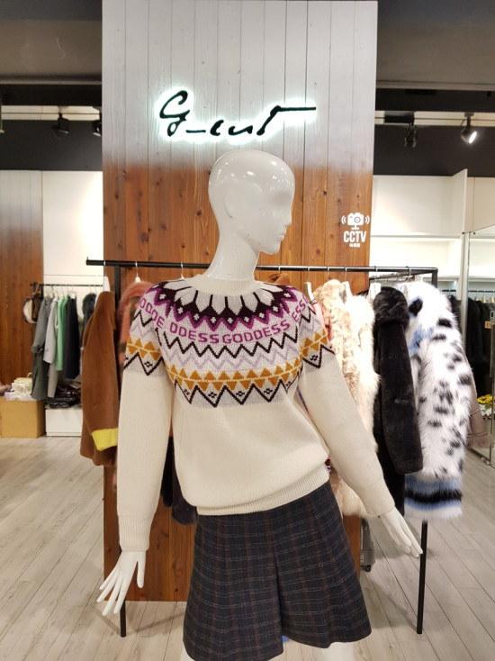 ジコッにエルペトンリップニート7217450033 ニット/セーター/韓国ファッション