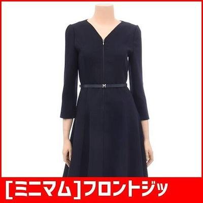 [ミニマム]フロントジッパーフレアワンピースMSCGWO7960 /ワンピース/綿ワンピース/韓国ファッション