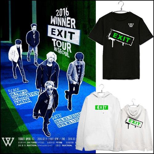 2016 WINNER EXIT 半袖 Tシャツ  パーカー/ ウィンナー / YG WINNER EXIT/ / ナムテヒョン 着用 / スター商品