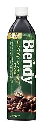 ブレンディ ボトルコーヒー 無糖 900ml ×12本