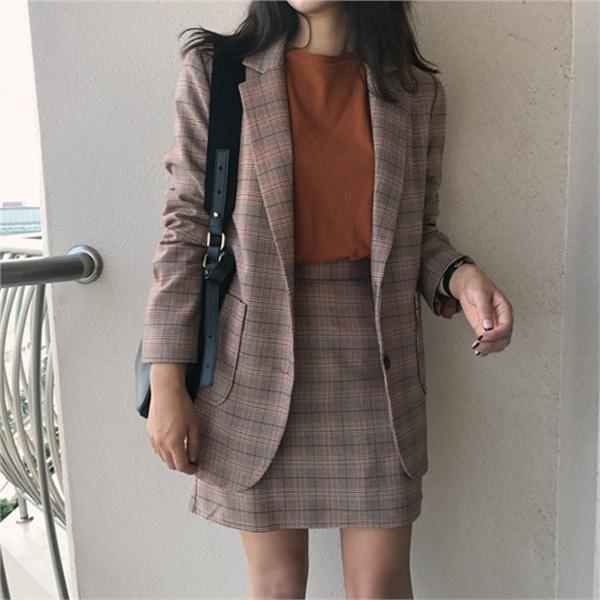 サンサンジャケット 女性のジャケット / 韓国ファッション/ジャケット/秋冬/レディース/ハーフ/ロング/
