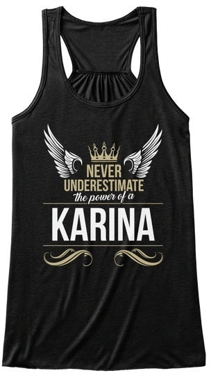 Karina Never Underestimate Heather BELLA+CANVAS Women s Flowy Tank