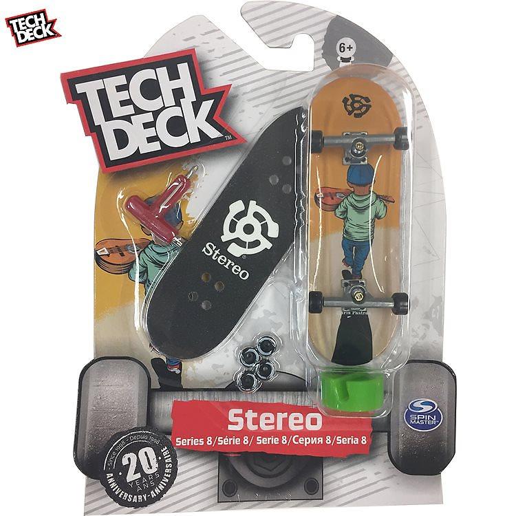 指スケ TECH DECK 96mm Stereo Chris Pastras テックデッキ ステレオ(20094680)テックデック スケートボード ミニスケ フィンガーボード TECHDECK 【