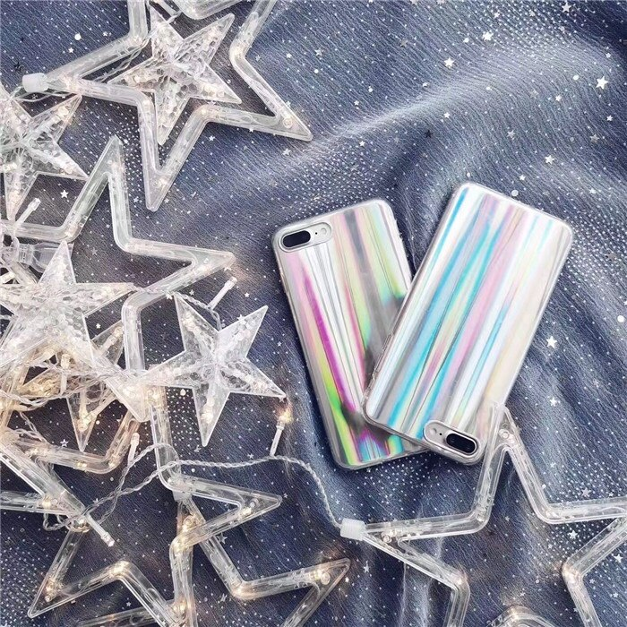 iPhone6 Plus/6S Plusクリアケース/ミラーケース/TPU背面カバー/キラキラ/保護カバー/スマートフォンカバー/ファッションな携帯ケース【管理番号:G318】