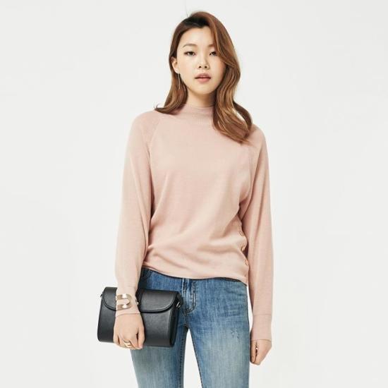 ナインNAINハイドンバンハイニートT2964 ニット/セーター/韓国ファッション