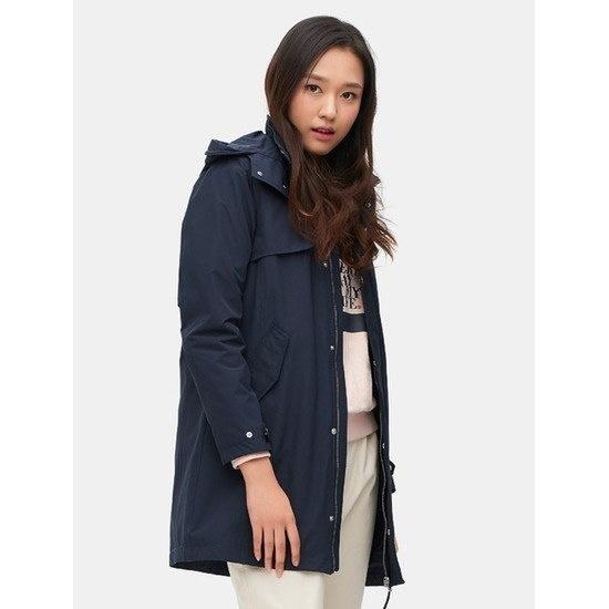 ソン・アリ、ビーンポールアウトドアのネイビー女性パディングライナージャケットBO7139C06R / パディング/ダウンジャンパー/ 韓国ファッション