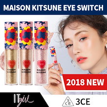 [3CE]2018 NEW MAISON KITSUNE EYE SWITCH ★3TYPES★ ベストセラーアイテム / 韓国コスメ / ブリンブリン化粧品とメイク