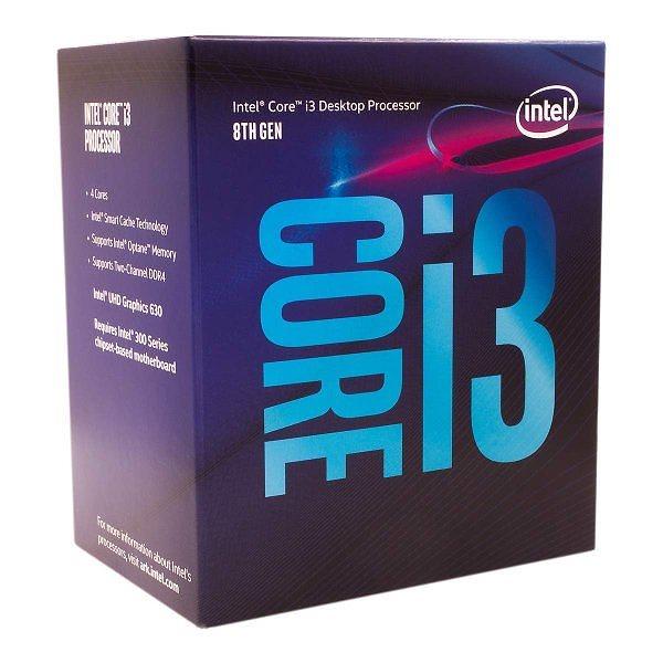 インテル Intel CPU Core i3-8100 3.6GHz 6Mキャッシュ 4コア/4スレッド LGA1151 BX80684I38100【BOX】