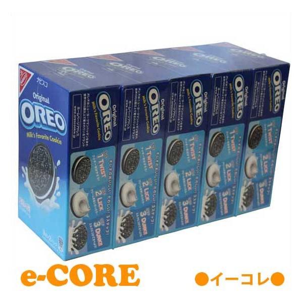OREO オレオ バニラクッキー 90枚セット(18枚入りx5箱) ビスケット クッキー 大容量パック 《02P03Dec16》【RCP】【ホワイトデー お返し 義理 お菓子 ラッピング ボックス】