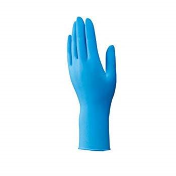 ダンロップ ホームプロダクツ ゴム手袋 ニトリル 極薄 パウダーフリー ブルー S ぴったりフィット NS-470 100枚入