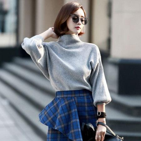 【ディントゥ] E1212バンハイバルーン袖カットソーkorea fashion style