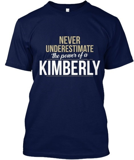 Kimberly Never Kimberly Hanesタグレスティー