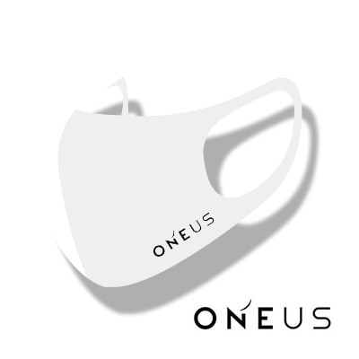 ONEUS LOGO MASK マスク[ STRETCH ANTIBACTERIAL 3D MASK ] 洗濯可能 HYOSUNG [カラーマスク]