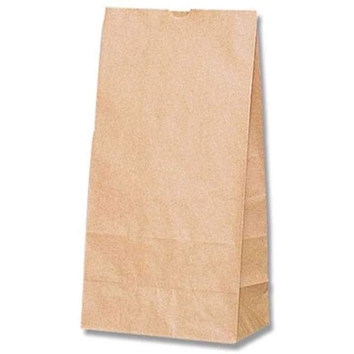 ヘイコー 紙袋 角底袋 No.12 クラフト 18x10.5x35cm 100枚 004011200(18x10.5x35cm)
