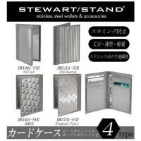 NY発ブランド スチュワートスタンド(STEWART STAND) カードケース DW3401-SVR・3DBOX