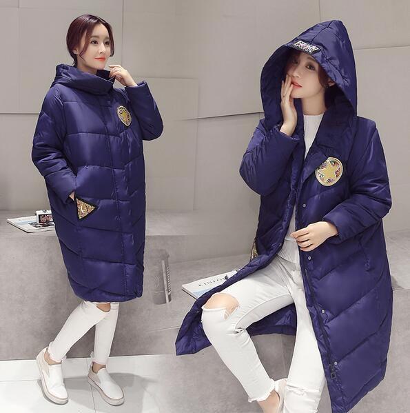 y7  防寒  アウター  キレイめ  ロングコート  ダウンコート♪  大きいサイズ  青い  ♪