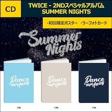 TWICE - SUMMER NIGHTS 2NDスペシャルアルバム A B C ver【初回限定/予約特典】【バージョン選択】