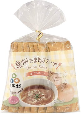 名和甚 TSC-K10 大阪泉州産たまねぎスープ (巾着) 10包