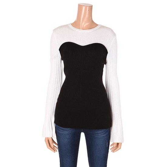 ジコッ、チューブタプベクリボンニート7217250014 ニット/セーター/韓国ファッション