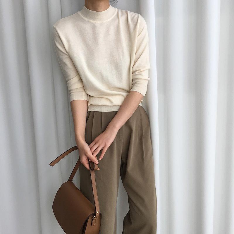 アデルニット5col korea fashion style