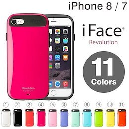 iPhone8/7 iface Revolution ケース[一部予約] 【当店はiFaceメーカー直営店】