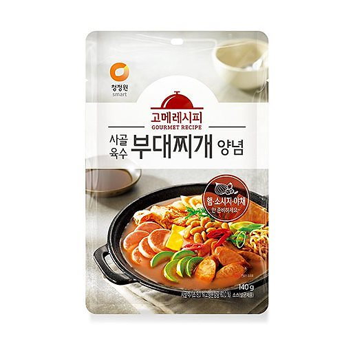 チョンジョンウォン グルメ レシピ 牛骨スープブデチゲ 韓国 食品 料理 食材