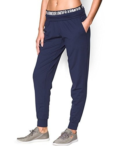 Under Armour Womens UA Downtown Knit Pant Extra Large BLUE KNIGHT