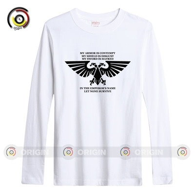40K Warhammer MEN S LONG SLEEVE T-SHIRTS VIDEO GAME ONLINE APP COMPUTER LOVERS FUNNY GIFT MEME QUOTE MANIA NINTENDO GEEK