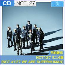 NCT127 ミニ4集 [NCT #127 WE ARE SUPERHUMAN] 初回限定ポスター MV DVD 韓国音楽チャート反映 和訳つき 1次予約