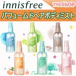 [innisfree/イニスフリー]パフュームドヘアボディミスト100mL/6種類/ポータブルカジュアル香水/済州の甘い香り/韓国コスメ/Perfumed Body and Hair Mist
