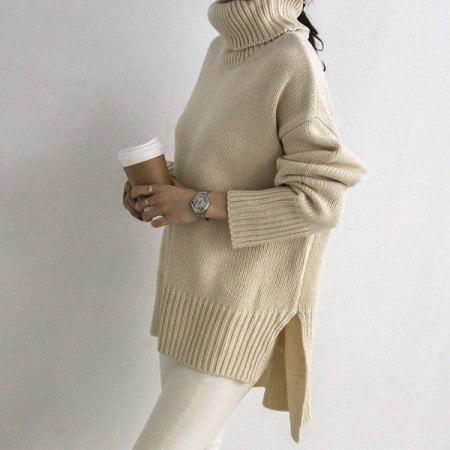 エルフォーリンタートルネックニットkorean fashion style