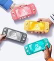 【送料無料】Nintendo Switch Lite ニンテンドースイッチ ライト (本体) [ターコイズ][グレー][イエロー]
