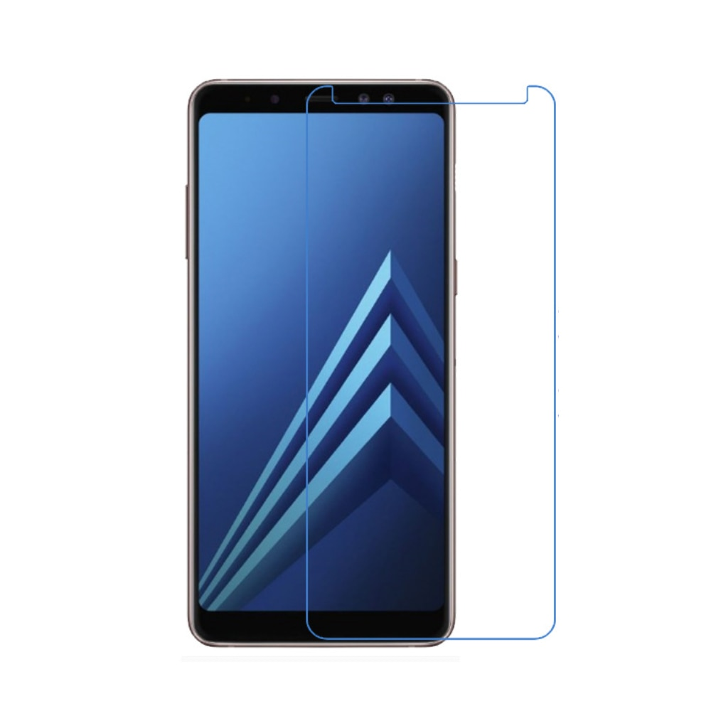 SAMSUNG Galaxy A8 SCV32 液晶保護 フィルム 画面シート pet 透明 指紋防止 衝撃吸収【0901】【2枚セット】